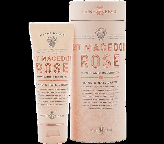 Mt Macedon Rose Hand & Nail Crème 100ml
