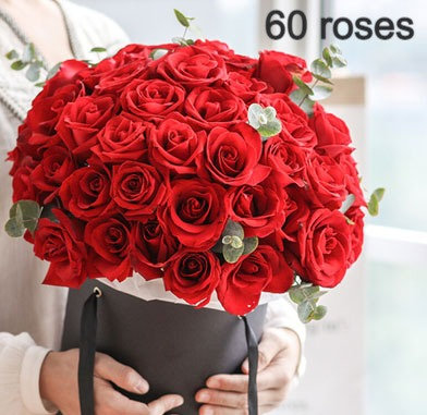 Roses in Hat Box FROM $100