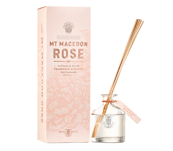 Mt Macedon Rose Diffuser 200ml