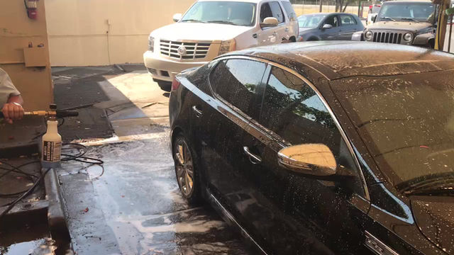 Our Foam Cannon and Hand Washing Your Vehicle