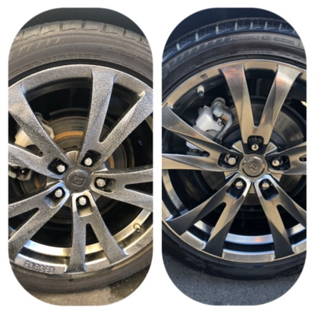 Wheels detailed