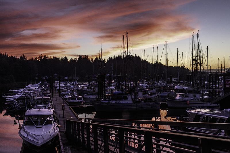 ucluelet sunset