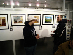 2009-03 Siddiqui_Bessie show opening_March 2009