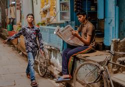 Morning walk - Varanasi