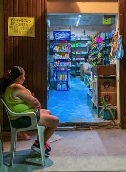 La Manzanilla store - looking in