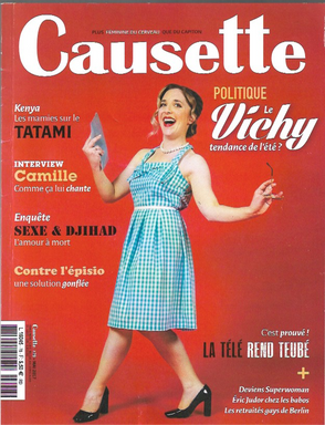 Couverture du Magazine Causette