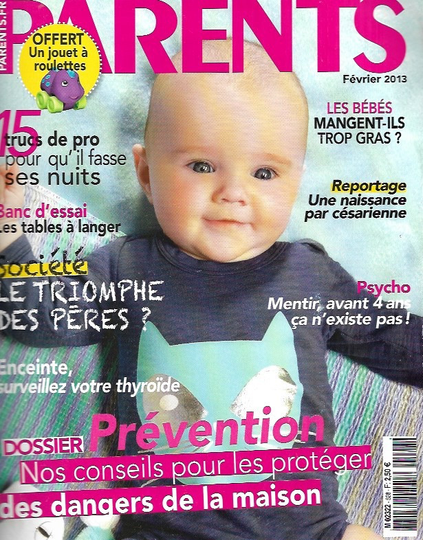 Couverture Magazine Parents