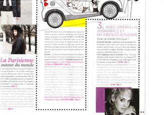 Publication dans le Magazine du Salon du Pret à Porter