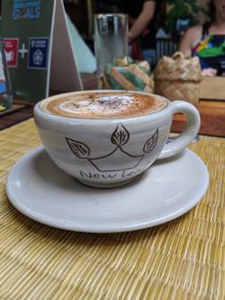 New Leaf Cappuccino