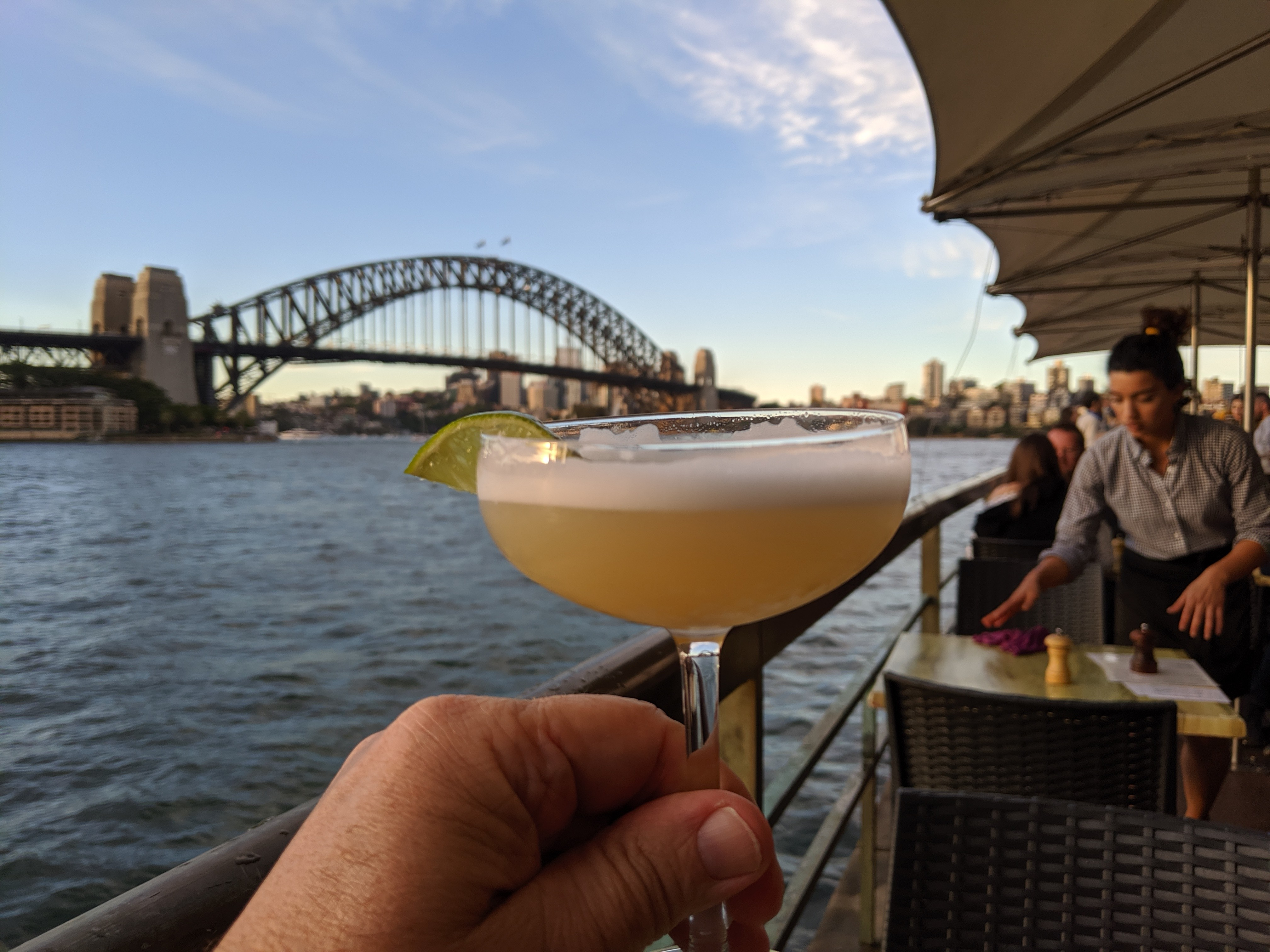 Gin Fizz and Harbor Bridge