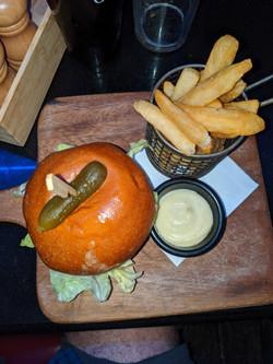 Aussie sized burger