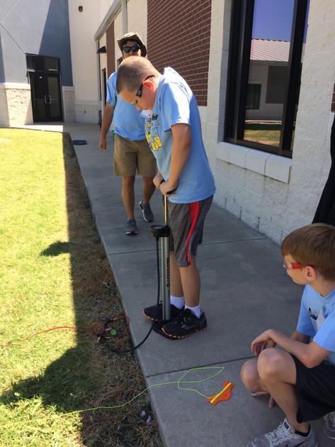 5th Grade Rocket Show