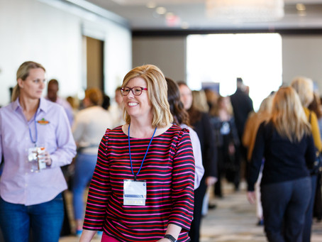 My IWL Impact Story: Living Out Loud as Conference Co-Emcee