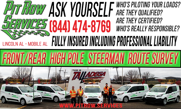 Pit Row Pilot Car Services