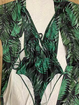 One Set Bamboo Bikini