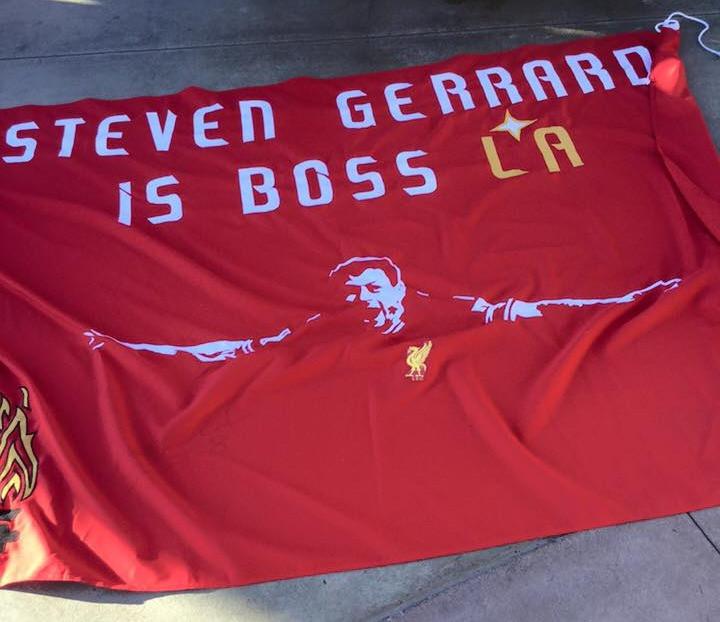Steven Gerrard Flag