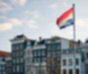 Netherlands flag Amsterdam