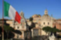 Rome Skyline Flag