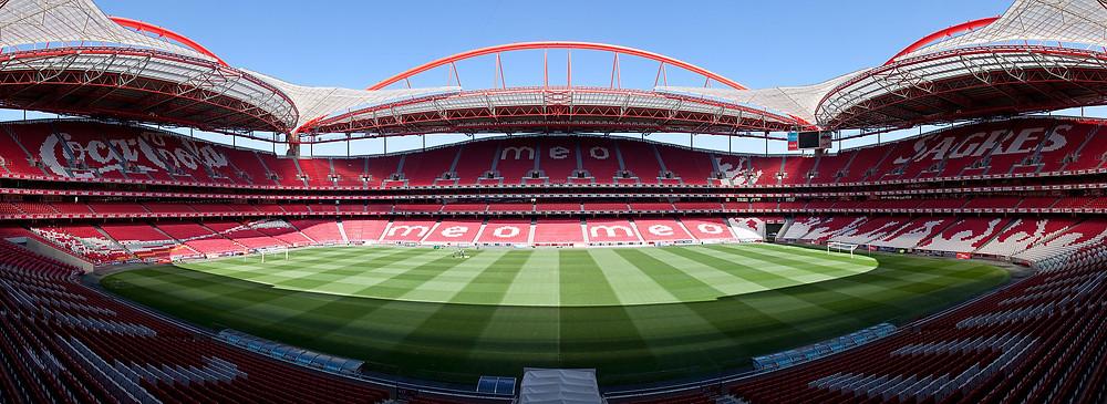 Inside Estadio da Luz