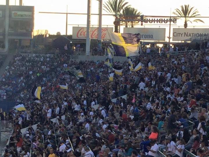LA Galaxy Supports