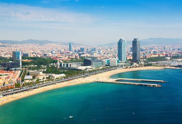 Barcelona Beach Spain