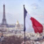 Eiffel Tower Paris French Flag