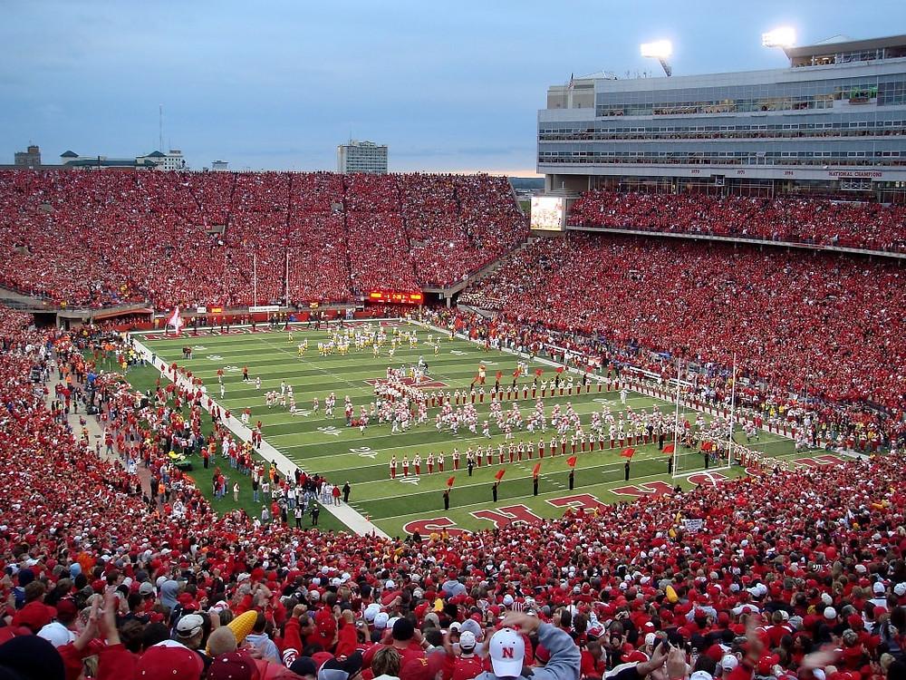 Memorial Stadium Game Day