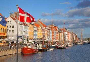 Denmark flag pole