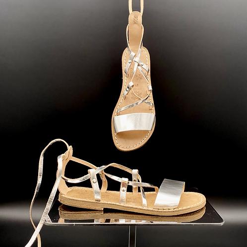 """Sandalo flat """"Argento 519"""""""