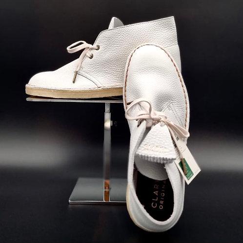 """Desert Boot """"white leather"""""""