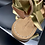 "Thumbnail: Sandalo flat ""570 Gold"""