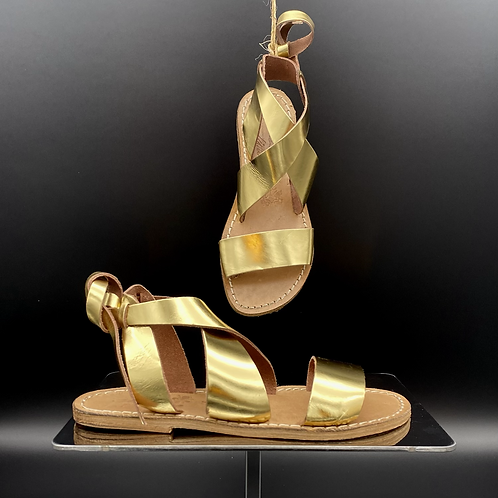 "Sandalo flat ""570 Gold"""