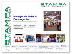 Diseño website STAMPA LOGISTICA