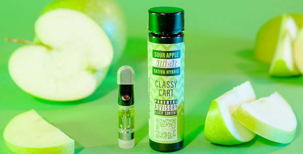Sweet & Sour Vape Cartridge - Sour Apple