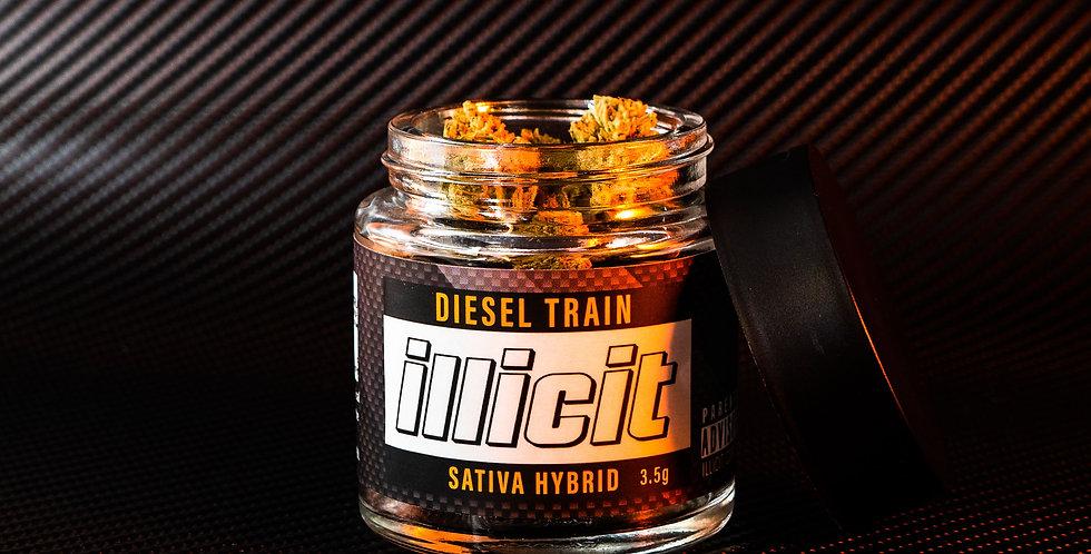 Pre-Packed Eighth - Diesel Train