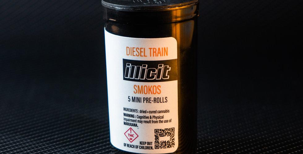 Smokos - Diesel Train