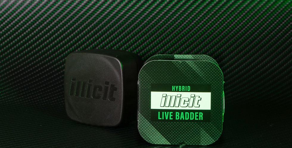 Concentrates - Live Badder: Hybrid