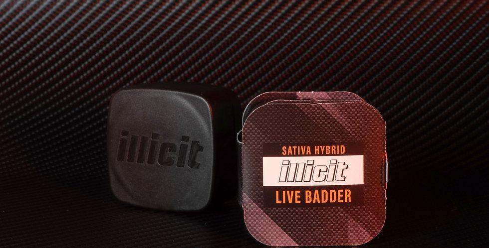 Concentrates - Live Badder: Sativa