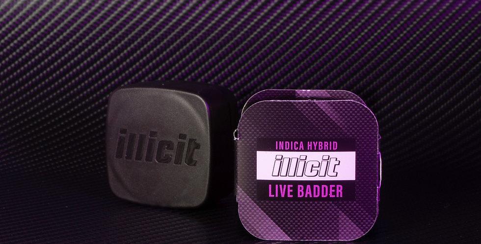 Concentrates - Live Badder: Indica Hybrid