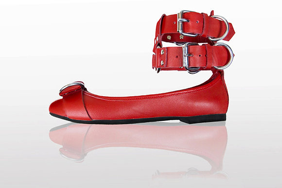 Mantis London Double Cuff Ballerina with D-Rings