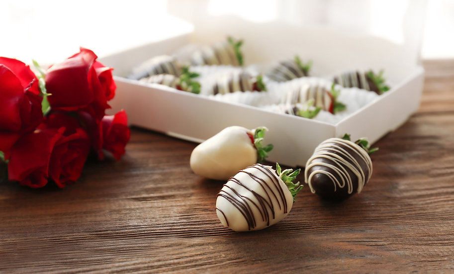 Half Dozen Gourmet Chocolate Dipped Strawberries