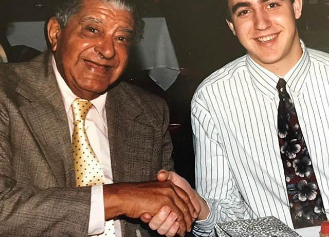 Dinner with Willie Humphrey - early 90s