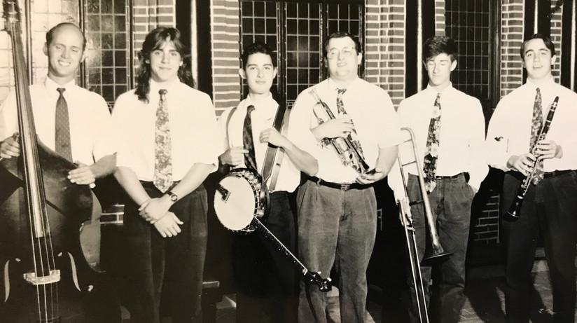 CBNOJB Promo shot at Cafe Barrone - early 90s