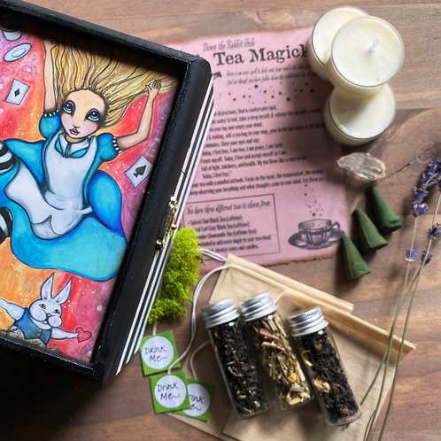Down the Rabbit Hole Tea Magick Ritual Box