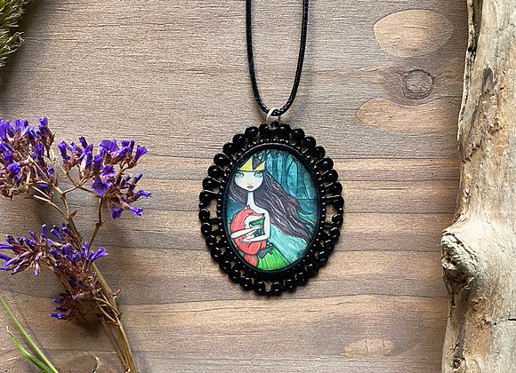 Resin Necklace - The Forest Queen
