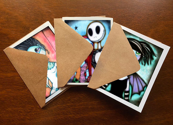 Spooky Greeting Card Set