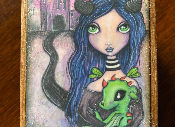 Pixie Box - The Dark Faerie (Homage to Maleficent)