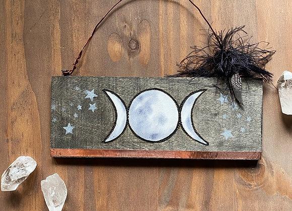 Triple MoonWall Hanging