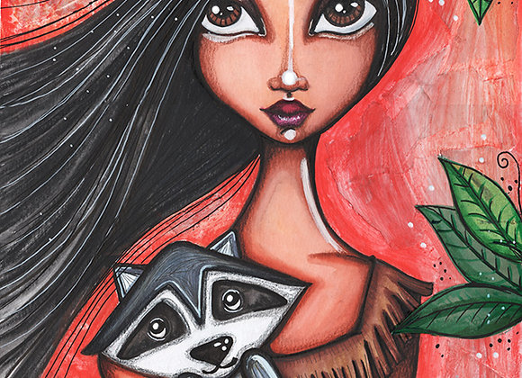 Princess Matoaka - Pocahontas
