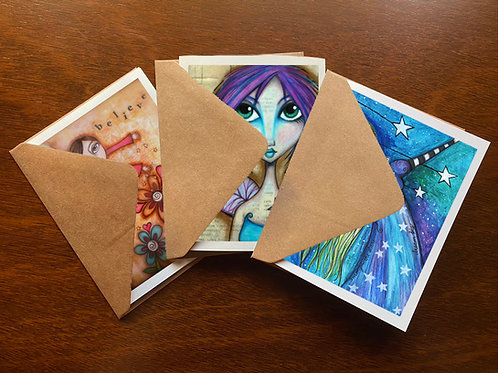 Faerie Love Greeting Card Set